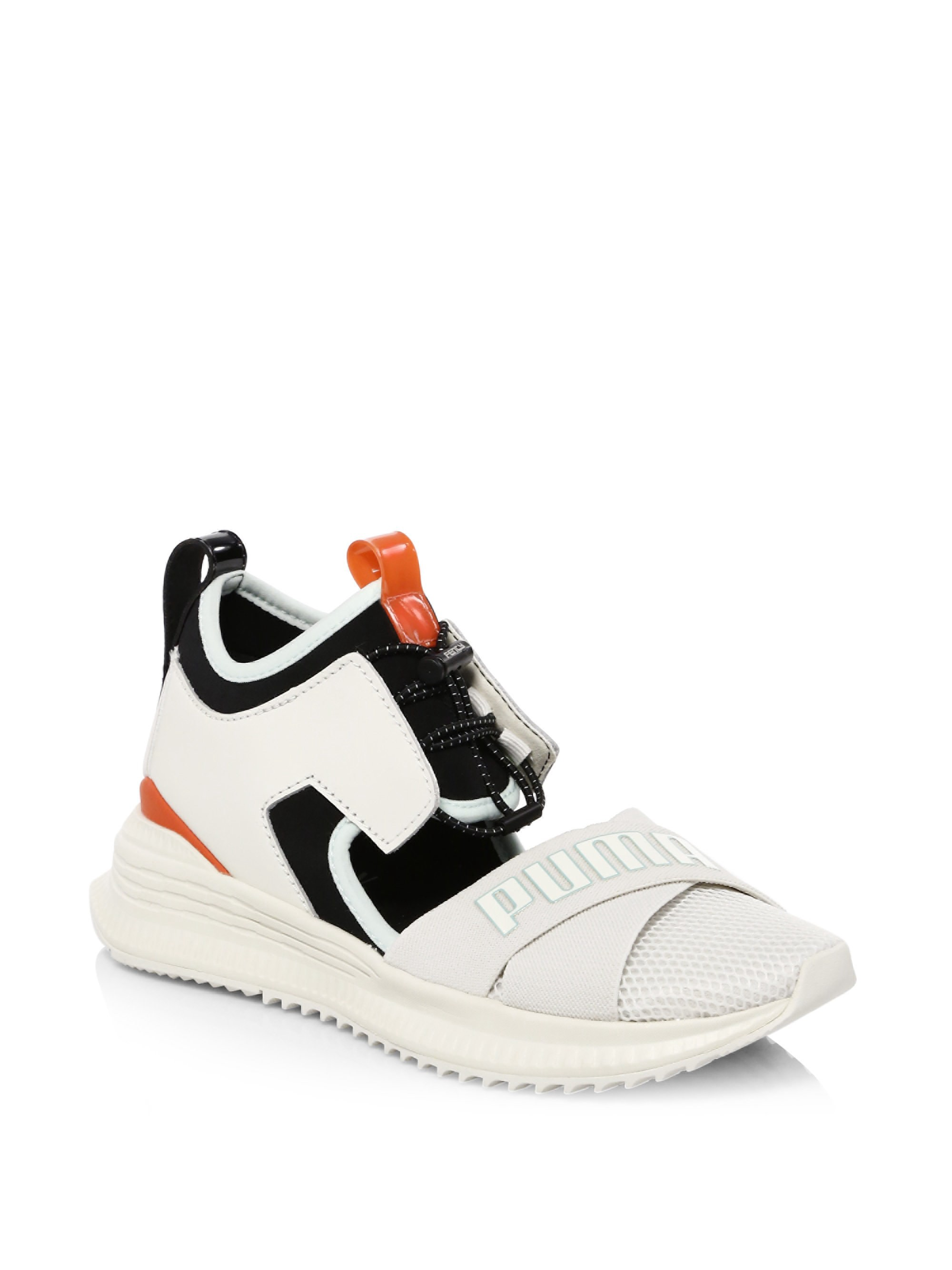 info for d2304 d9059 Puma Fenty Avid Cutout Sneakers - White 9 | Products ...