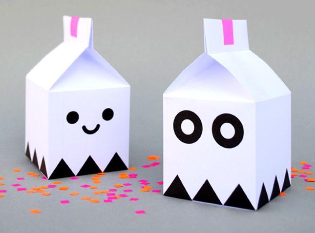 Ghost treat Boxes ~ innen und außen einfach nur süß ;)