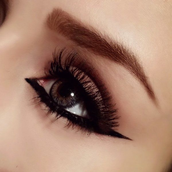 Reverse Cat Eye Cat Eye Makeup Cat Eye Eyeliner Eye Makeup Tips