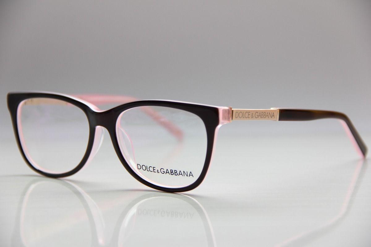 armação p  óculos de grau feminino d g dolce 3107   óculos d4fed3a97d
