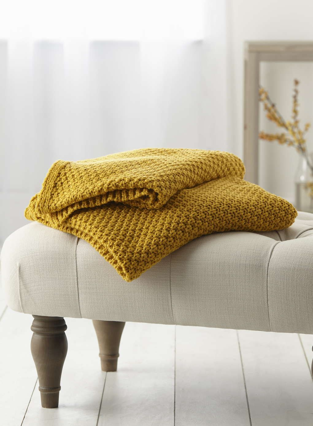 Mustard Yellow Throw Blanket Fascinating Mustard Waffle Knit Throw  Bhs  Throws And Rugs  Pinterest  Bhs Review