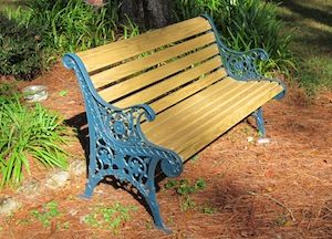 Iron And Wood Patio Furniture image result for redo cast iron and wood patio furniture | cast