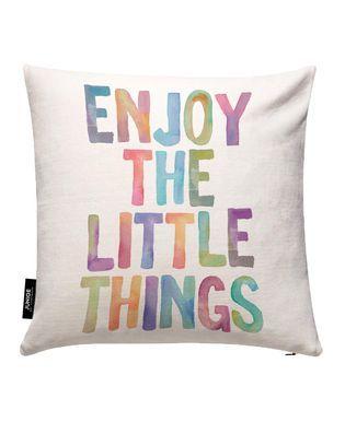 Enjoy The Little Things - THE MOTIVATED TYPE - Kissenbezug
