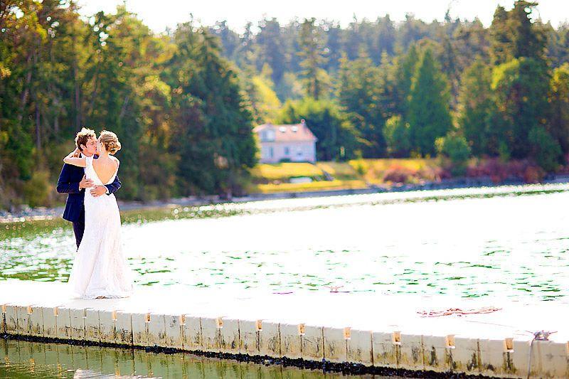 Captain Whidbey Inn Wedding Photos Photographer