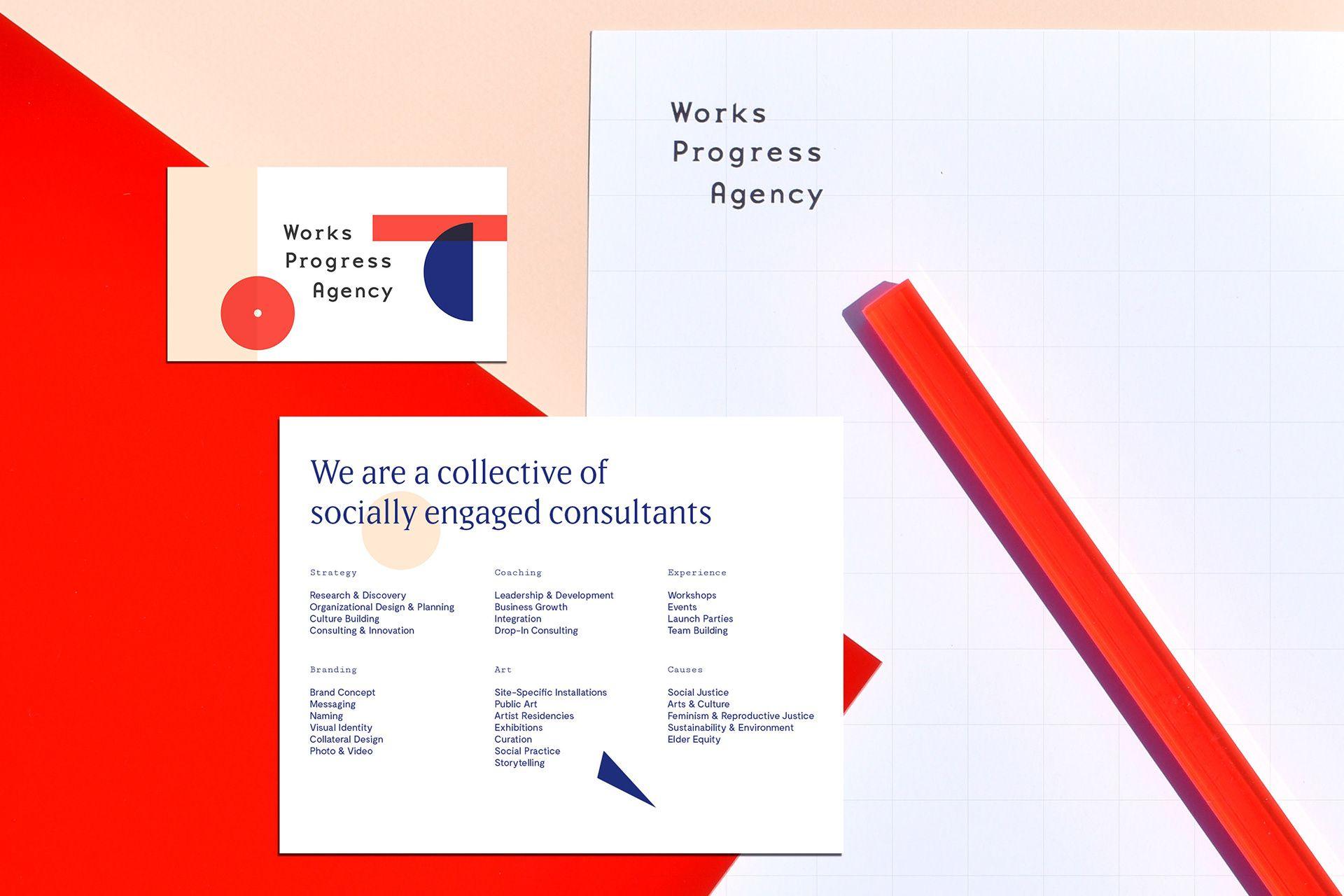 Works Progress Agency on Behance Works progress