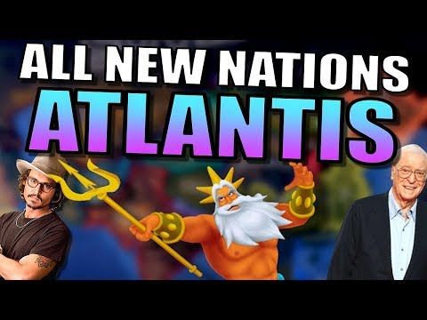 All New Nations [ATLANTIS]   Hearts of Iron 4 Gameplay [AI