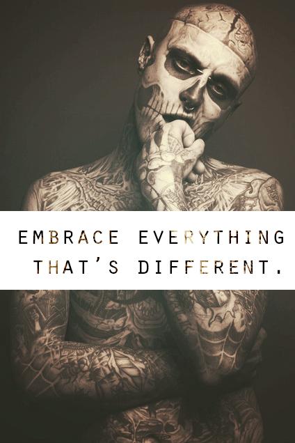 Citaten Kunst Zombie : Zombie boy ♥ quotes rick genest boy quotes boys