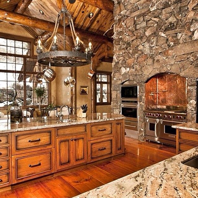 astonishing luxury kitchen island chairs | Kitchen appliances are built right into the stone. AMAZING ...