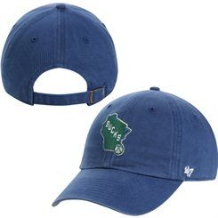 online store 99d3a 1f963 Men's '47 Brand Royal Milwaukee Bucks State Logo Cleanup ...