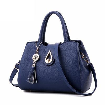 44fbb16edf94 Ladies  Fashion Handbags-Stylish Elegant PU Leather-Stylish Tassels Top  Handle Shoulder Bags. Women Handbag Bag Ladies Tassel High Quality PU  Leather Totes ...
