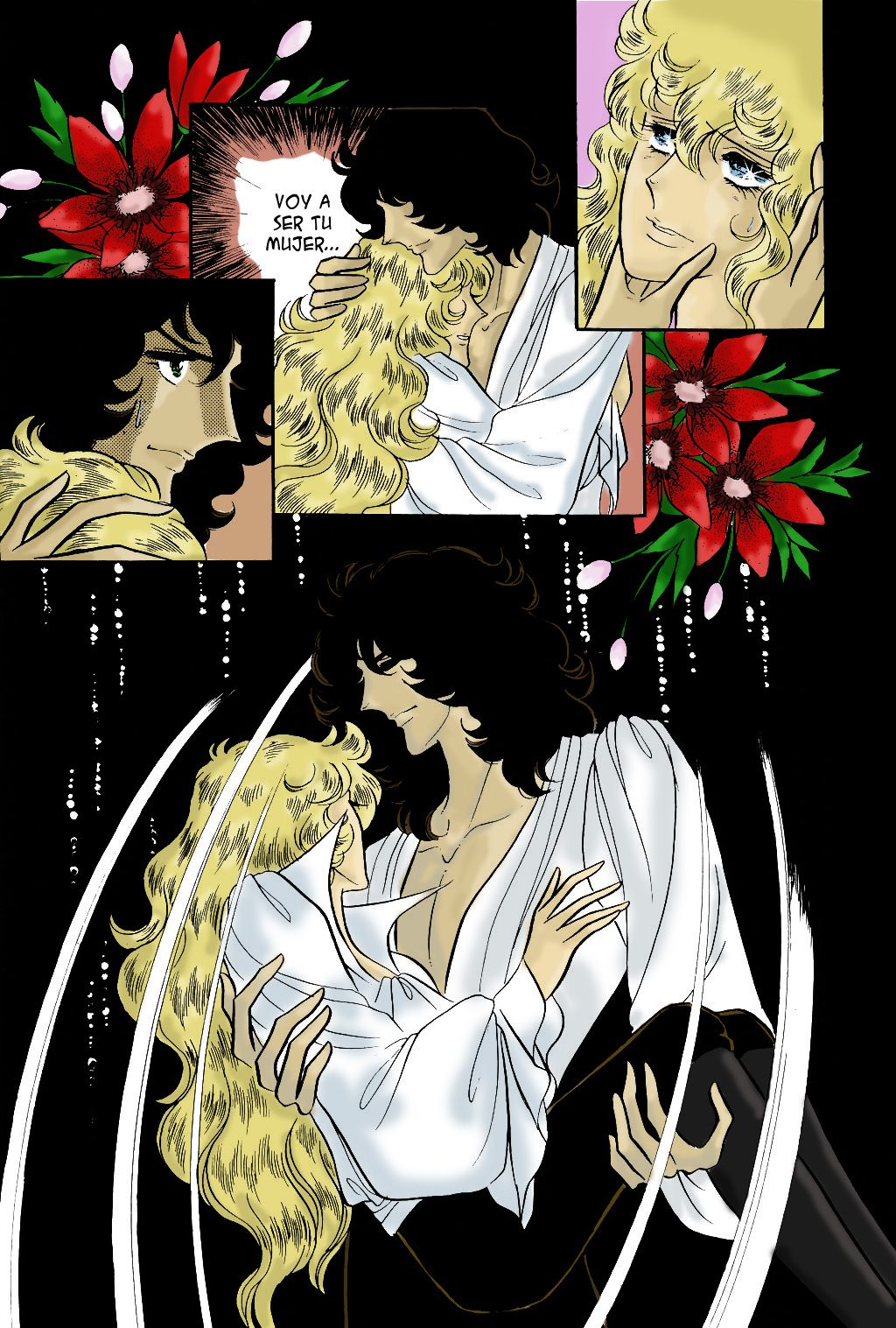 Lady Oscar - Rose of Versailles manga colour | Lady Oscar - Rose of ...