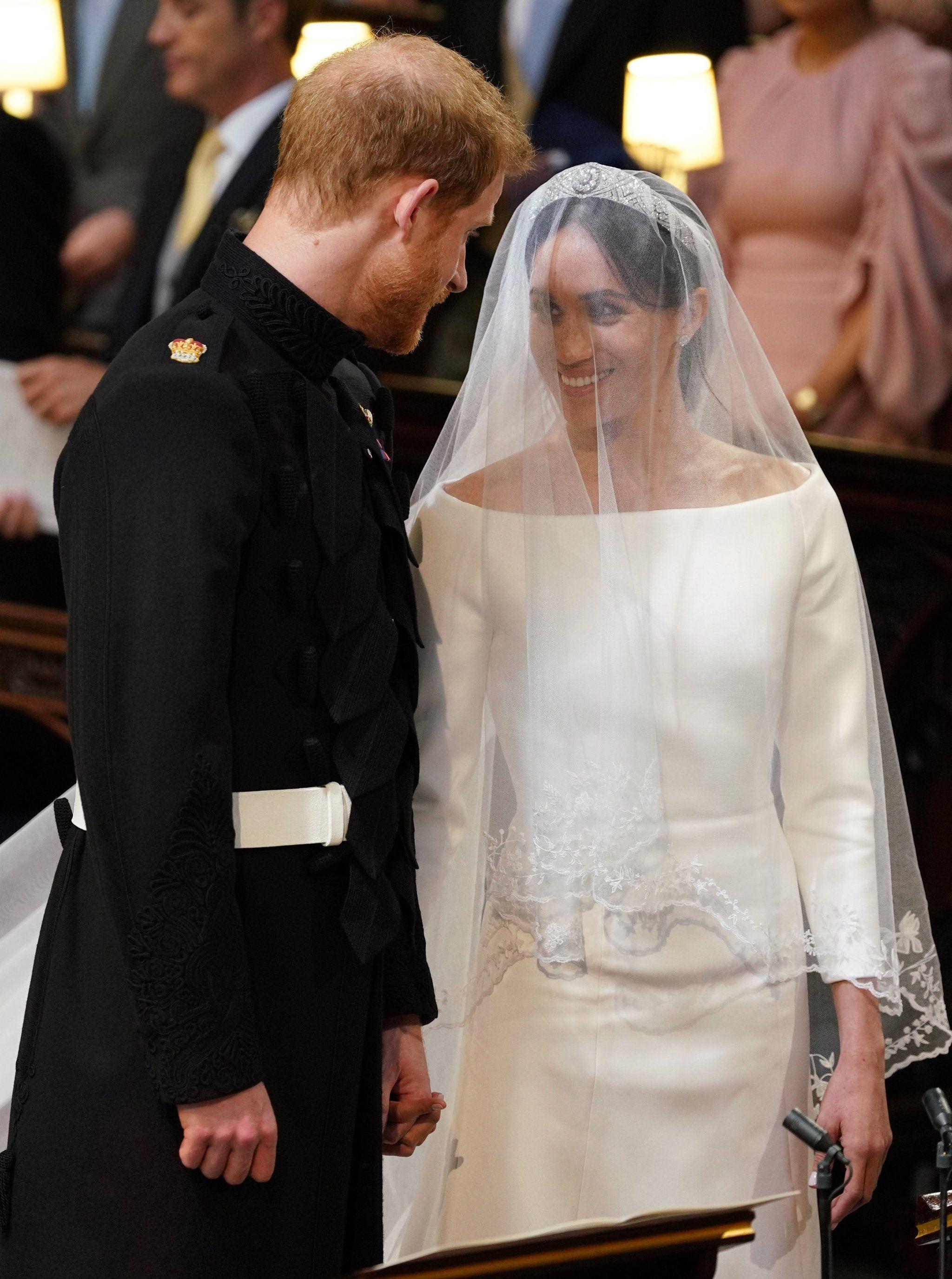 Oprah wedding dresses  We Knew Meghan Markle Would Make a Beautiful Bride but We Werenut