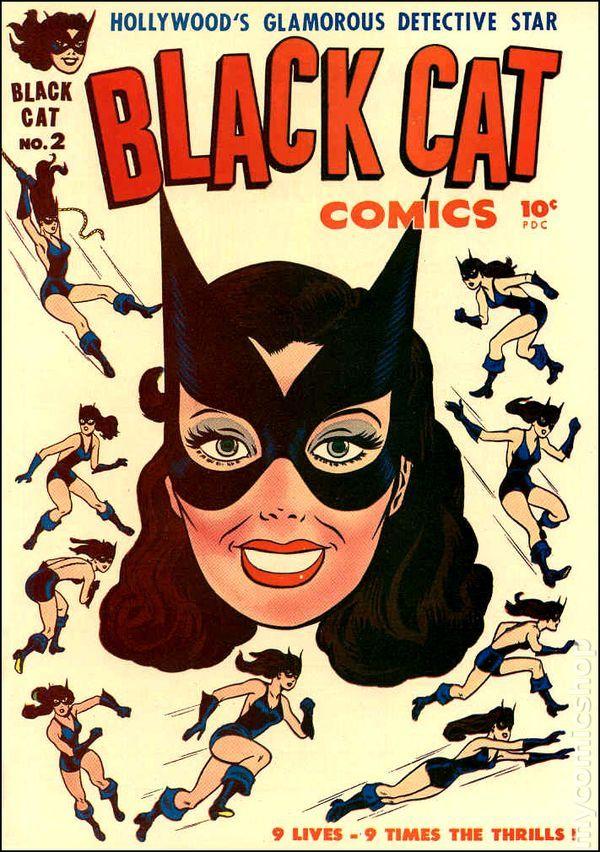 Black Cat Comics (1946 Harvey) 2
