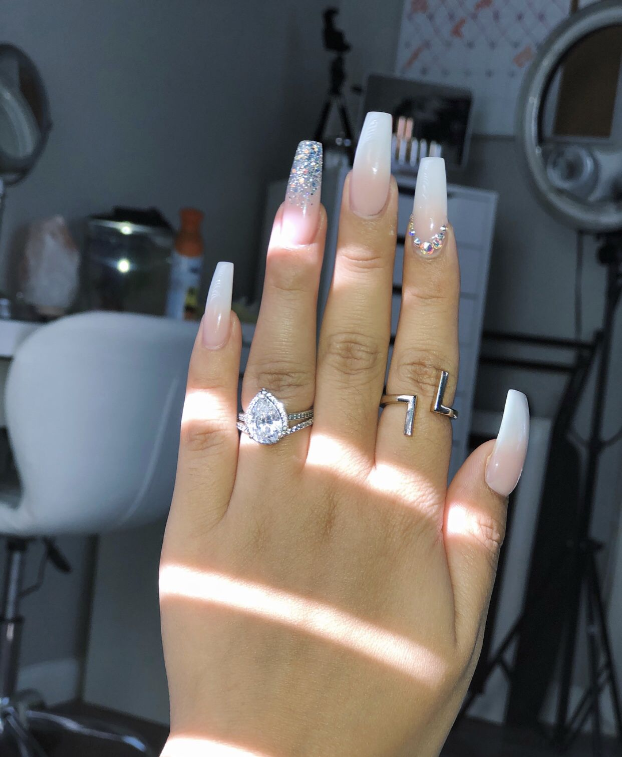 Pinterest Ig Shaylarodneyy Gorgeous Nails Coffin Nails Designs Cute Acrylic Nails