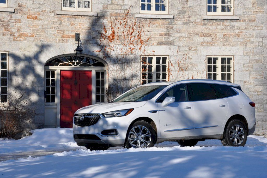 Suv Review 2019 Buick Enclave Avenir