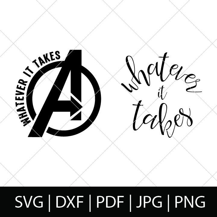 Download Avengers whatever it takes svg bundle | Avengers symbols ...