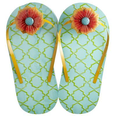 Flip Flop Wall Decor About 3 Feet Tall At Pier One Mermaid