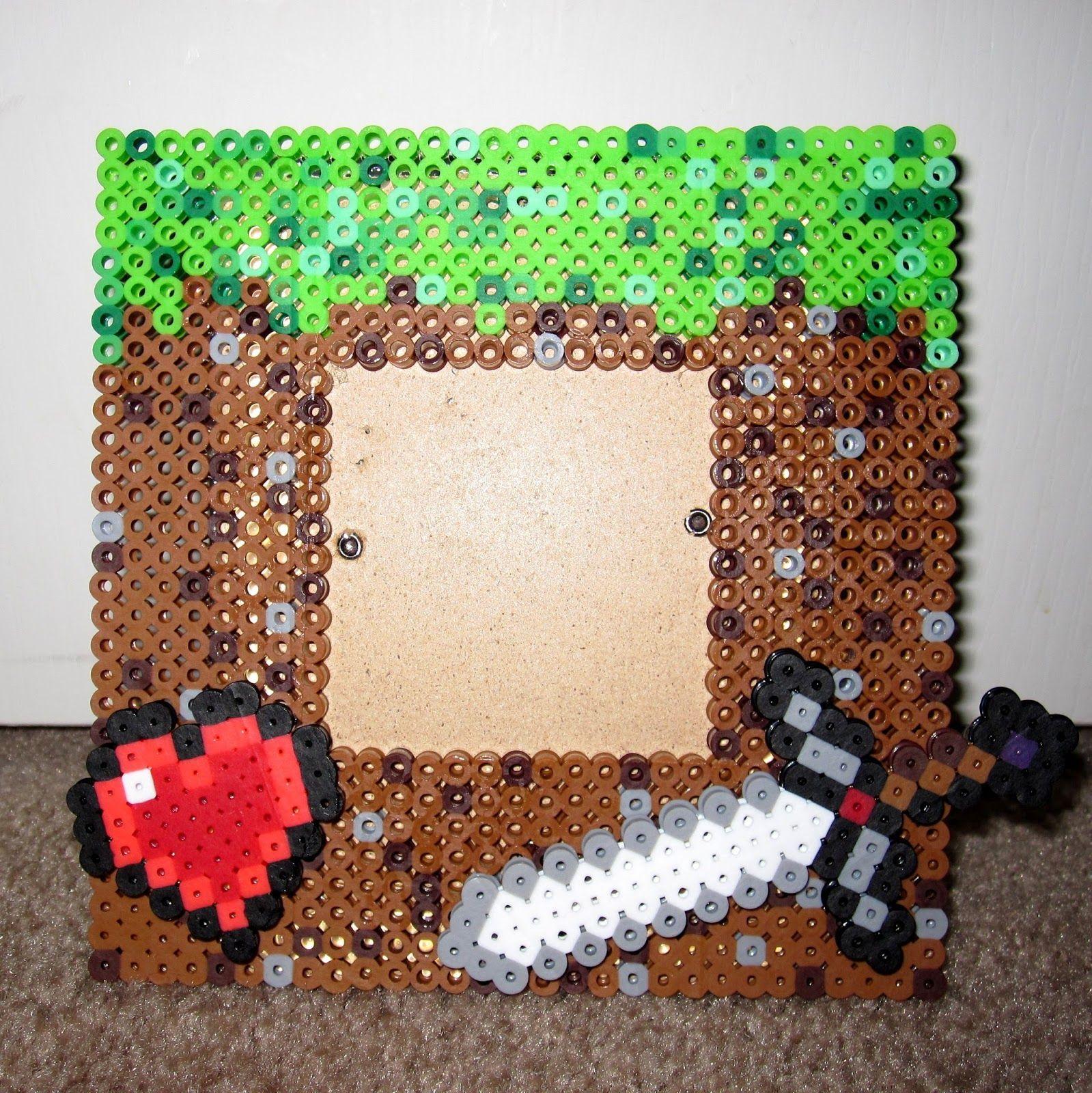 Dramatis Personae Minecraft Perler Bead Frame Perler