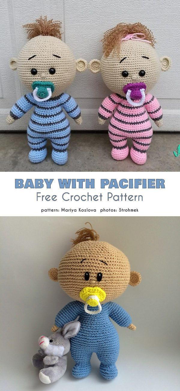 Baby Doll and Bassinet Free Crochet Patterns