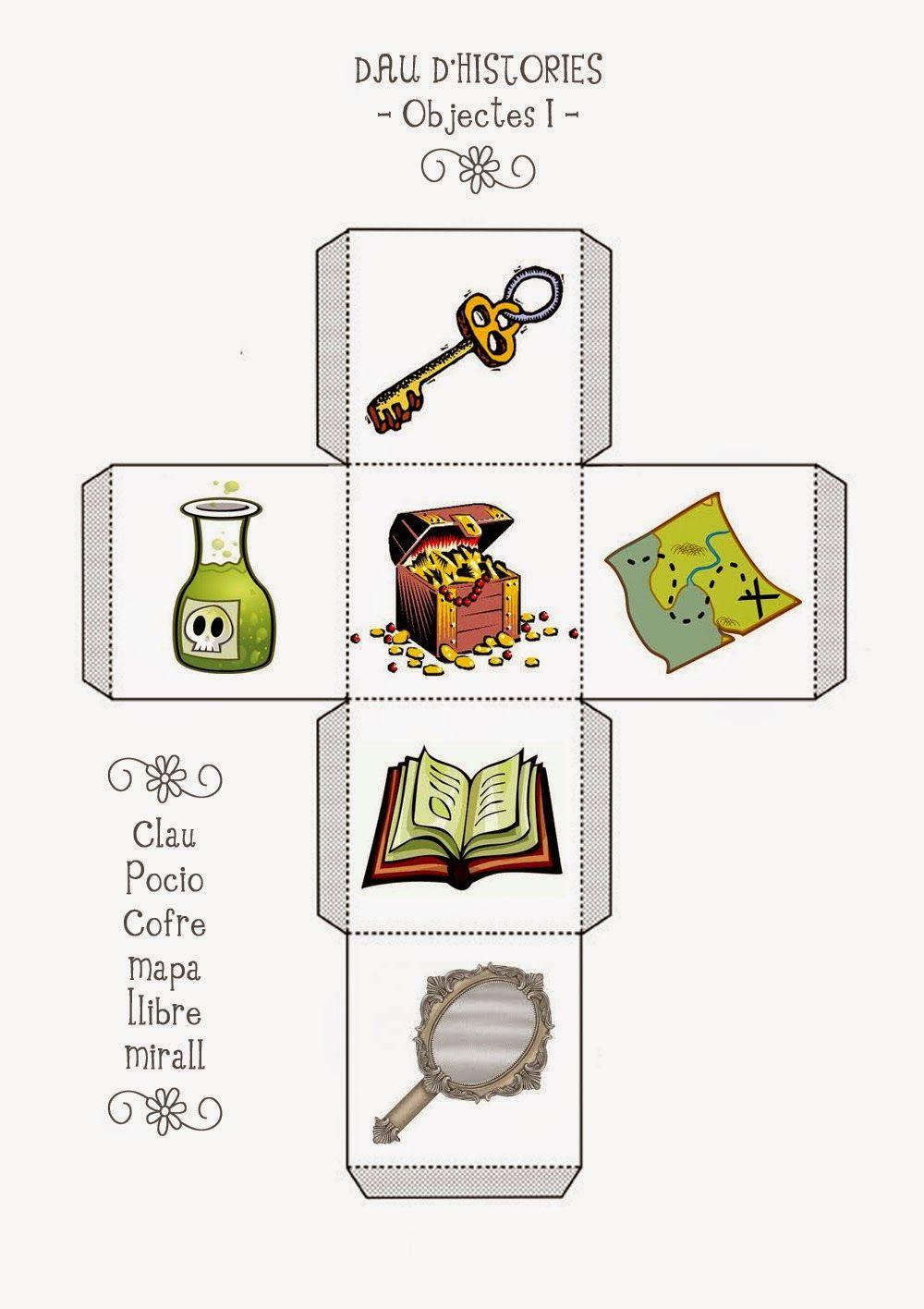 Cubo de histórias3 | Recursos en el aula | Pinterest ...