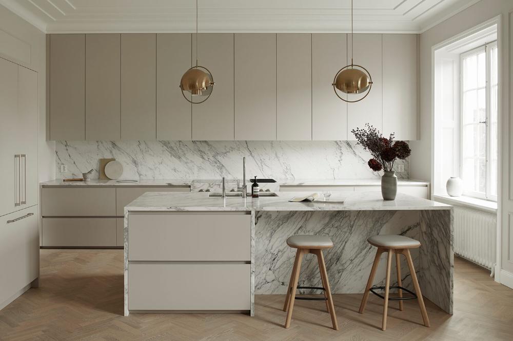 Det nordiska moderna köket
