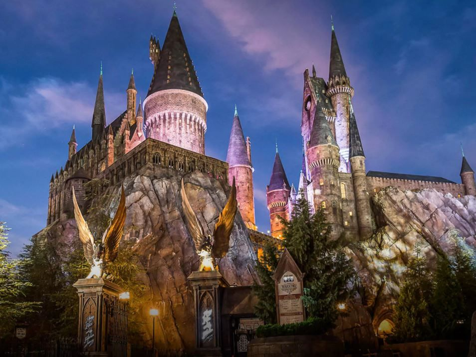 Harry Potter and the Forbidden Journey at the Wizarding World of Harry Potter