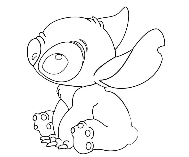 Printable Lilo and Stitch – Stitch Lost Coloring Pages | Cakes ...