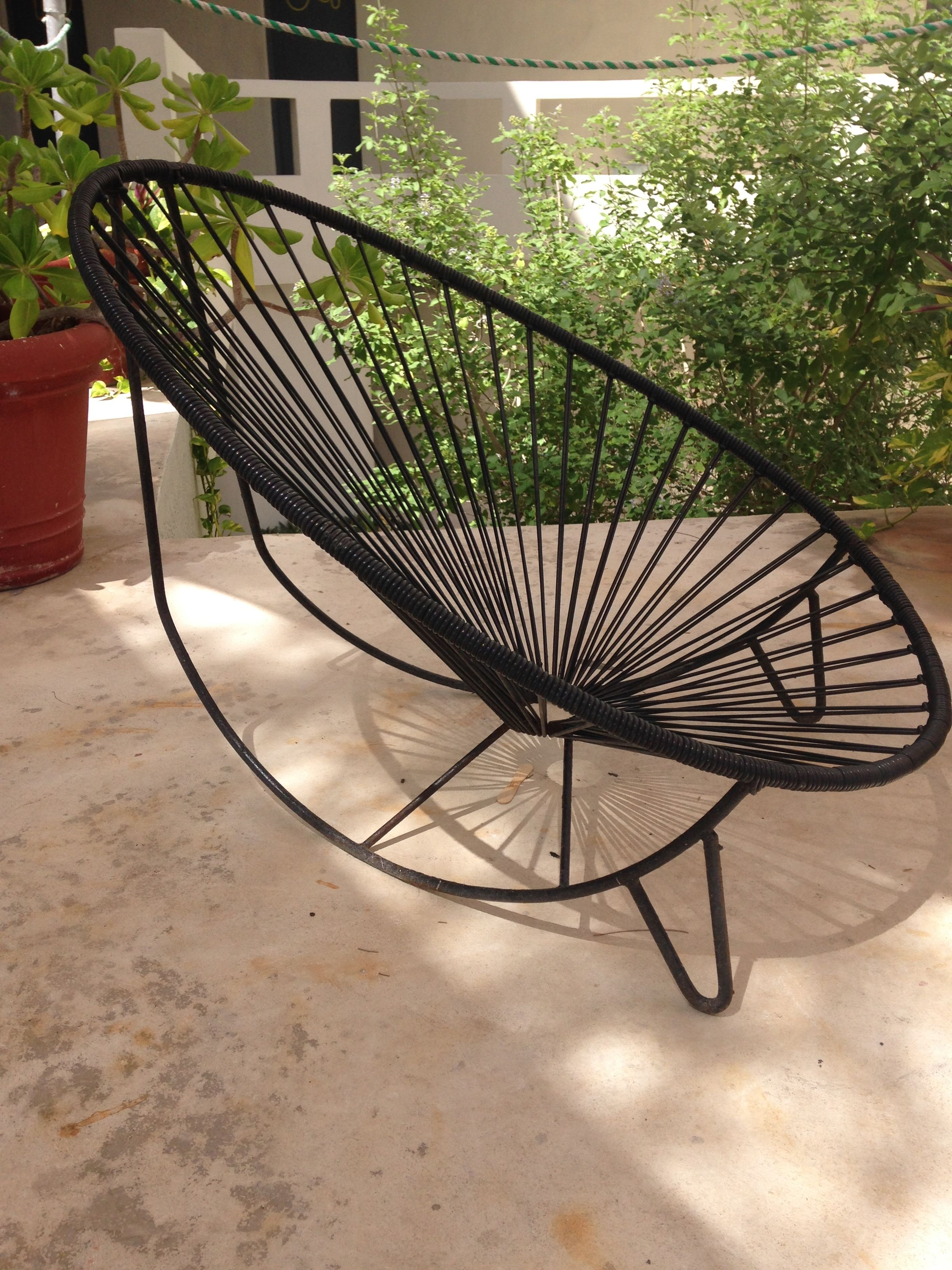 Acapulco Rocking Chair I Photographed In Isla Mujeres Mexico