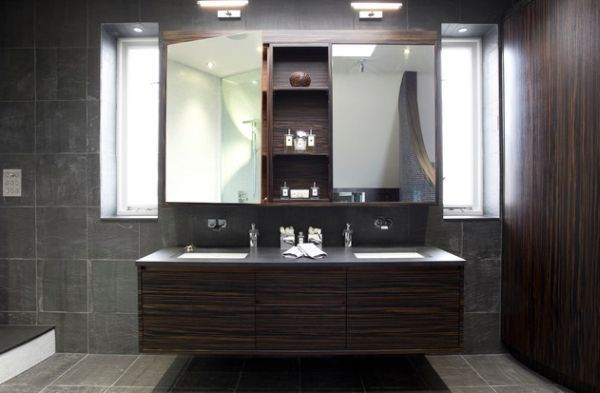 Beautiful Salle De Bain Lavabo Double Images - Nettizen.us - nettizen.us