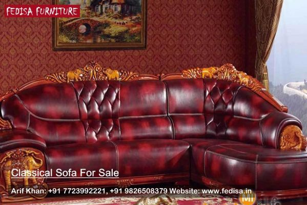 Traditional Leather Furniture Collections, Classic Sofa ...