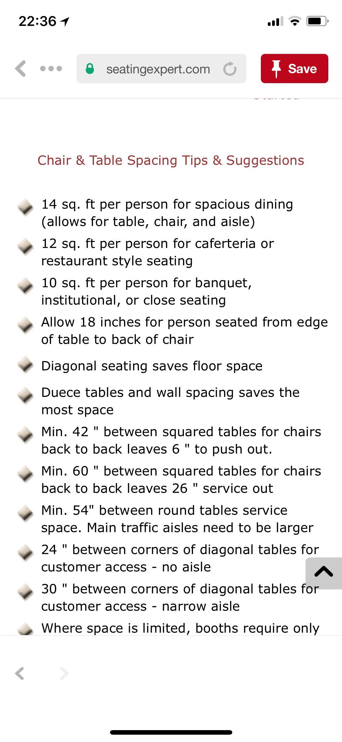 Pin By Jonathan Abrahams On Table Spacing