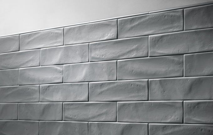 Gl Tile Royal Oak Silver 3 X 12 Matte Finish