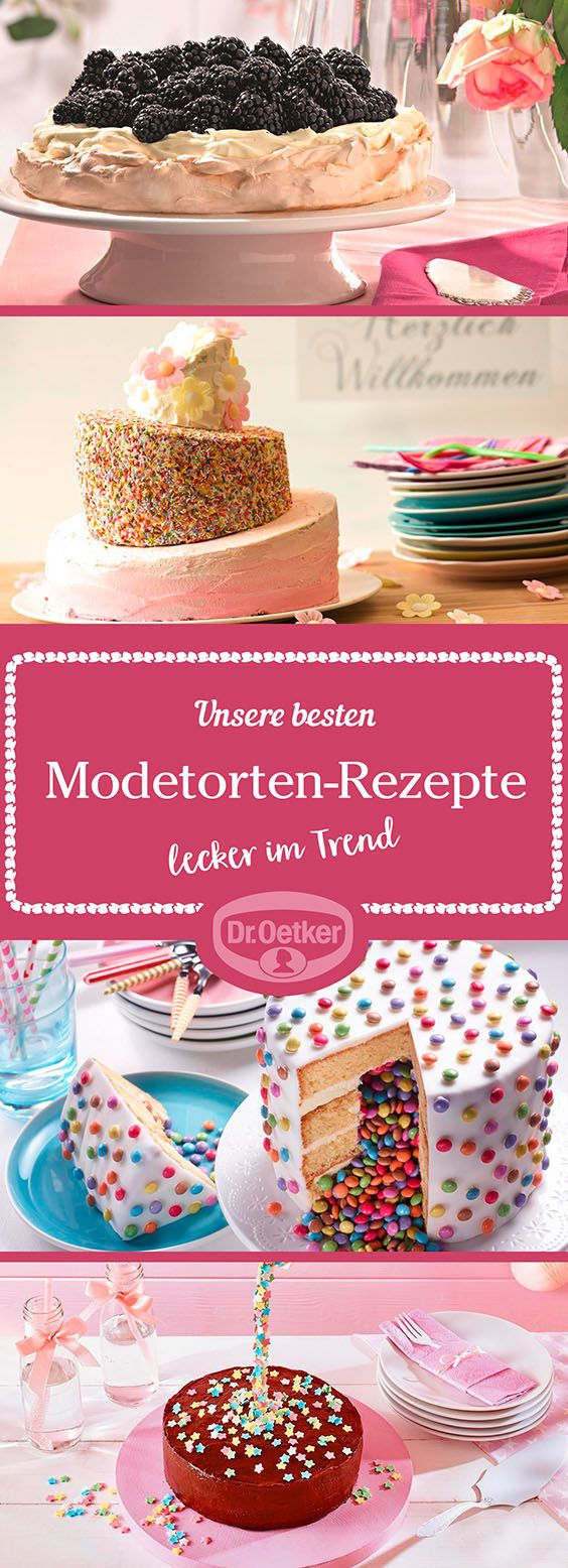Moderne torten rezepte mit bild