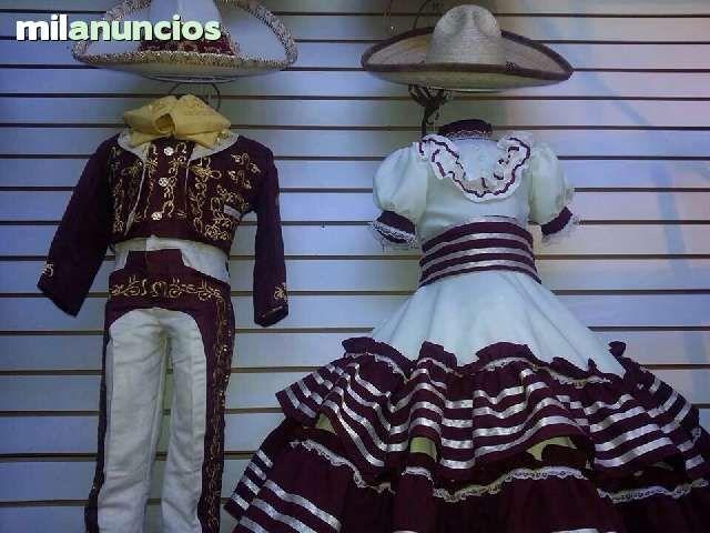 86852cf53 TRAJE CHARRO Y VESTIDO NIÑOS Vestidos Mexicanos Para Niña, Trajes Charros,  Vestidos De 3