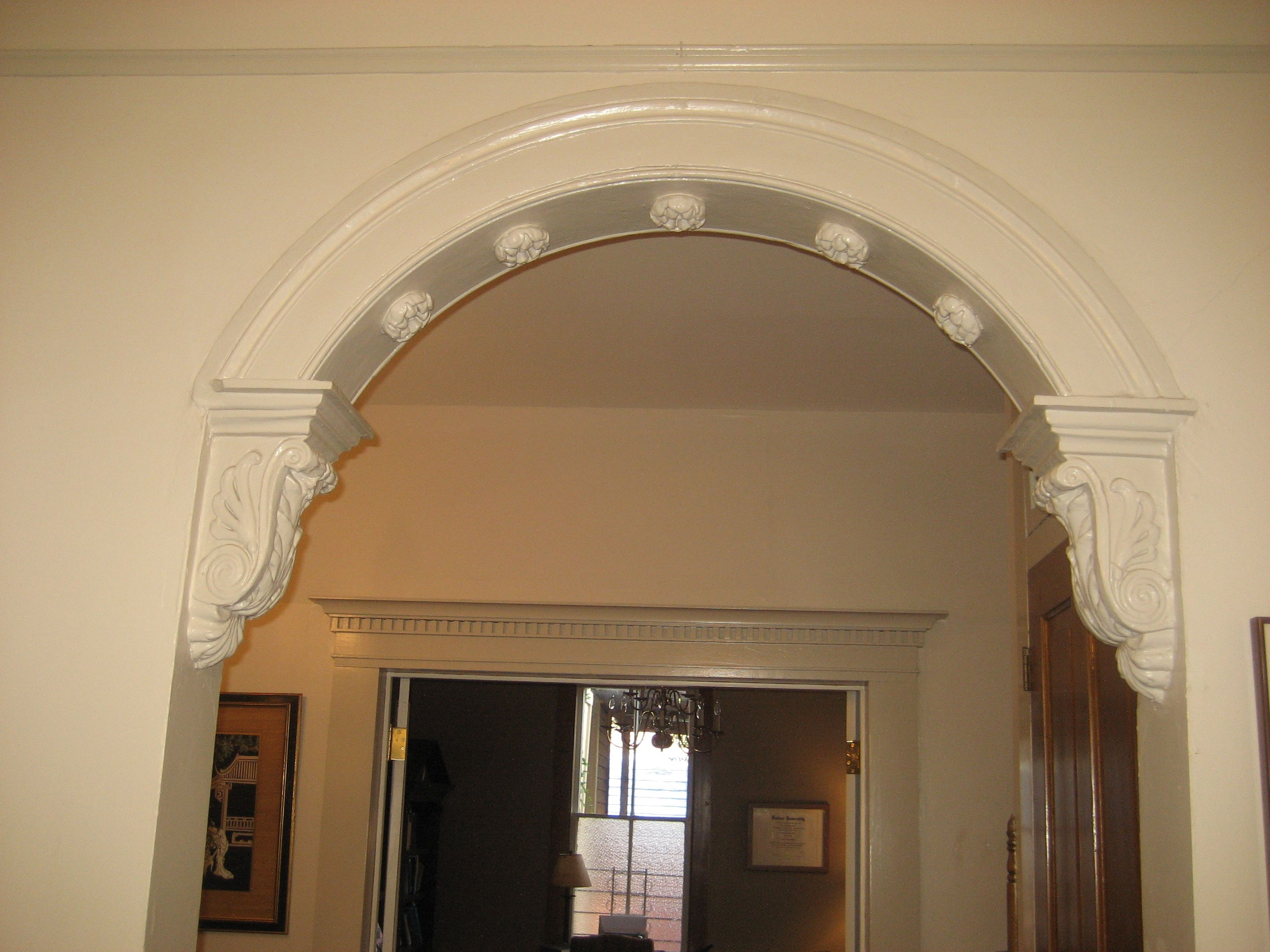 Hall Arch In House