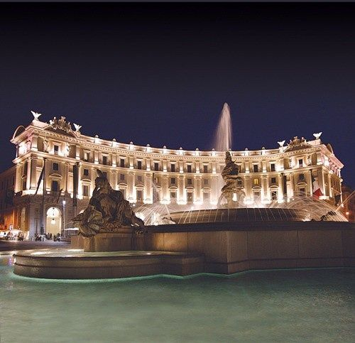 Our Hotel In Rome Boscolo Exedra Roma Italy Luxury Hotels From Great