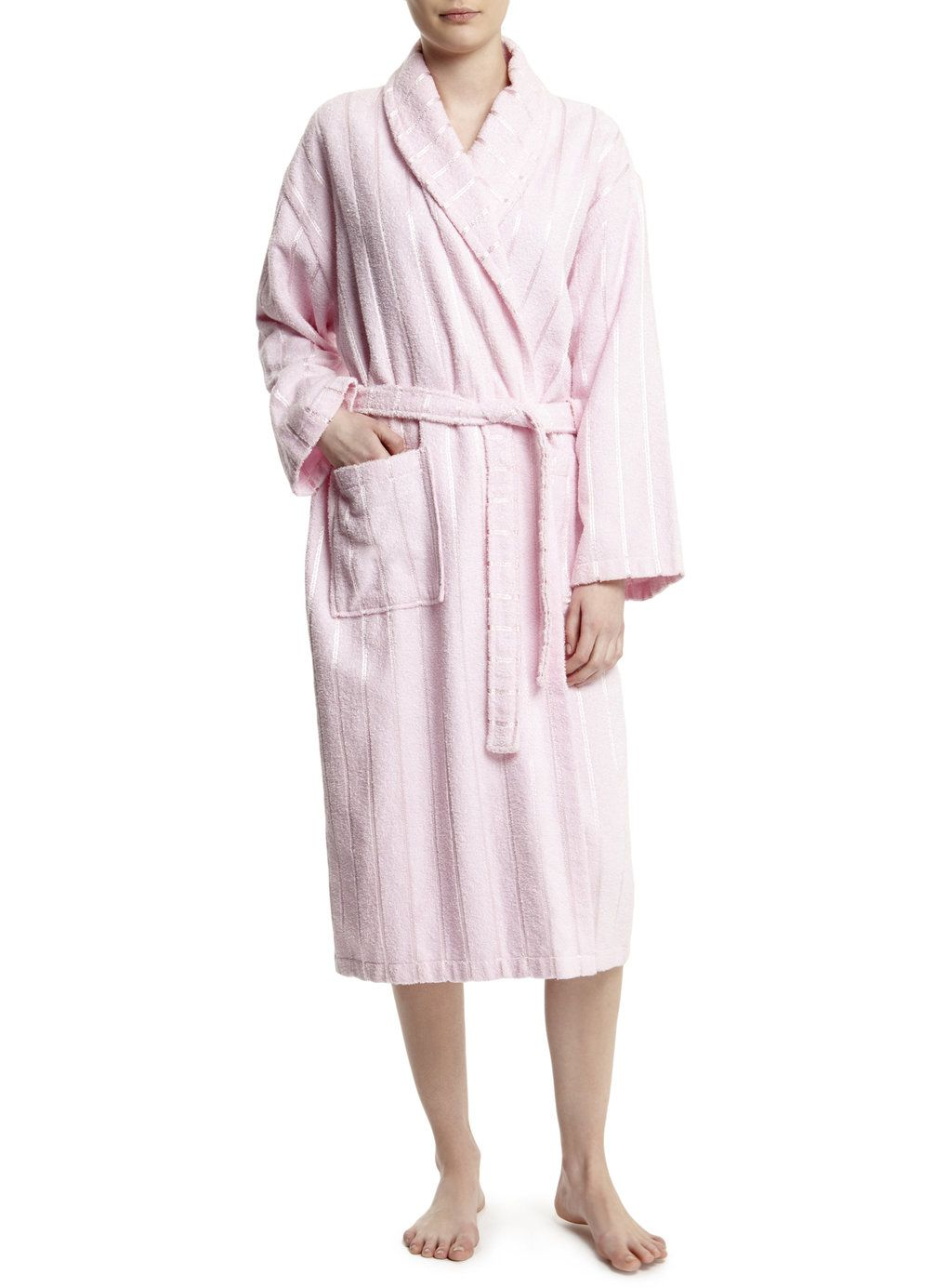 Photo 2 of Pink Ladies Towelling Dressing Gown | towelling robe ...
