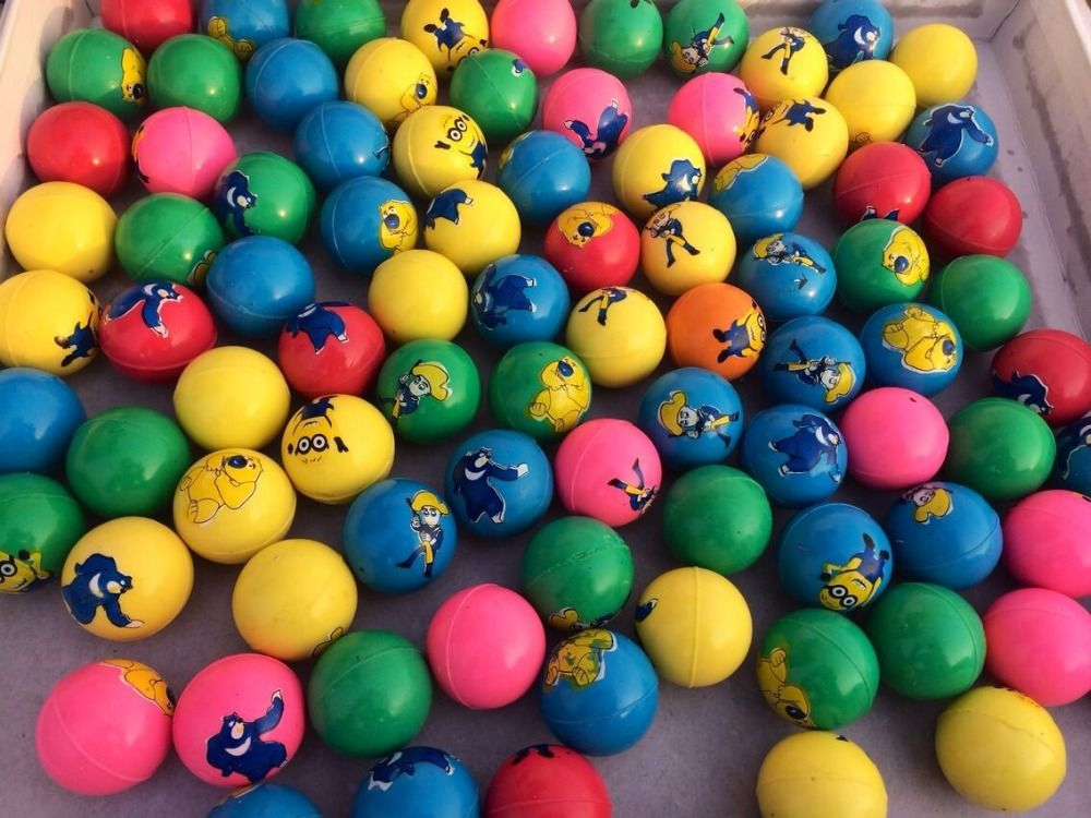 Aliexpress Com Buy Baby Toy Balls Machine Bouncing Ball Rubber Ball Toy Sports Various Color Patterns Football From Reliable Toy Baby Ball Toy Baby Toys Ball