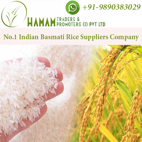 Top Basmati Rice Wholesalers & Exporters Company from India