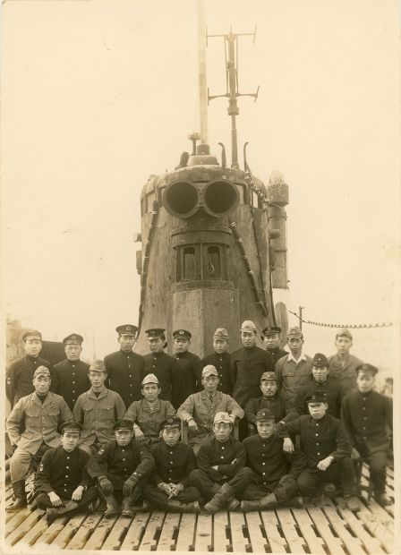 "rocketumbl: "" 伊号第五十三潜水艦 1946年4月1日 爆破処分前 Japanese ..."