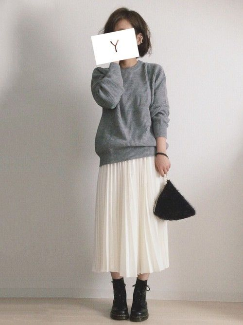 Y│Dr.Martensのブーツコーディネート   Autumn and Winter Outfits   Dr ...