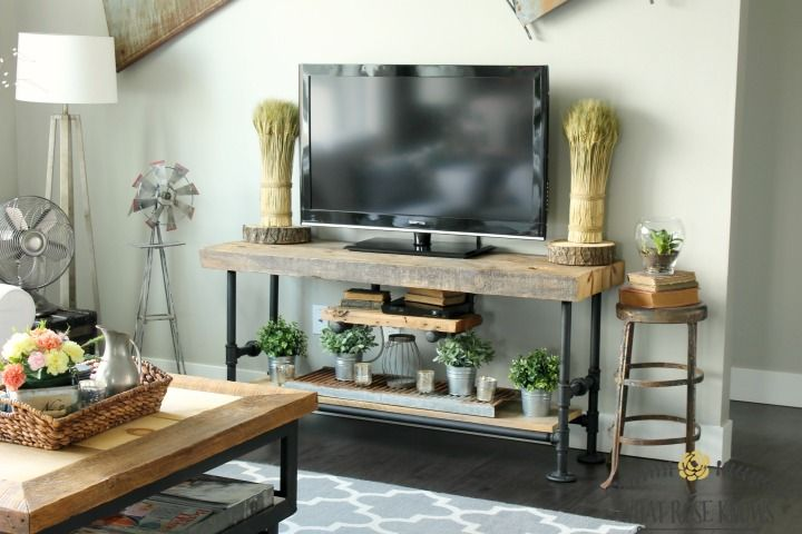 Fresh Farmhouse Diy Projects Retro Tv Stand Tv Stand Designs