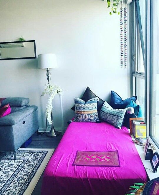 Daybed along extended window sill kirpa house interior design also best images indian home decor rh uk pinterest