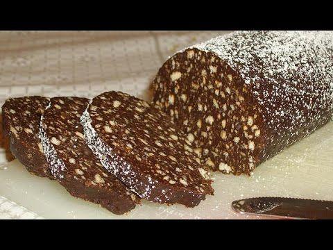 Ricetta Salame Di Cioccolato Senza Uova Fatto In Casa Da Benedetta.Salame Al Ciccolato Ricetta Cioccolato Pasti Italiani Latte Condensato