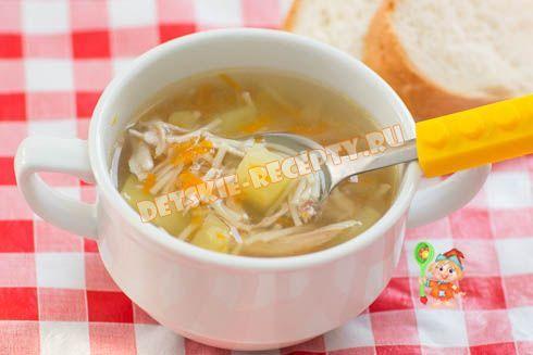 Куриный суп с вермишелью в мультиварке - рецепт с фото для ...