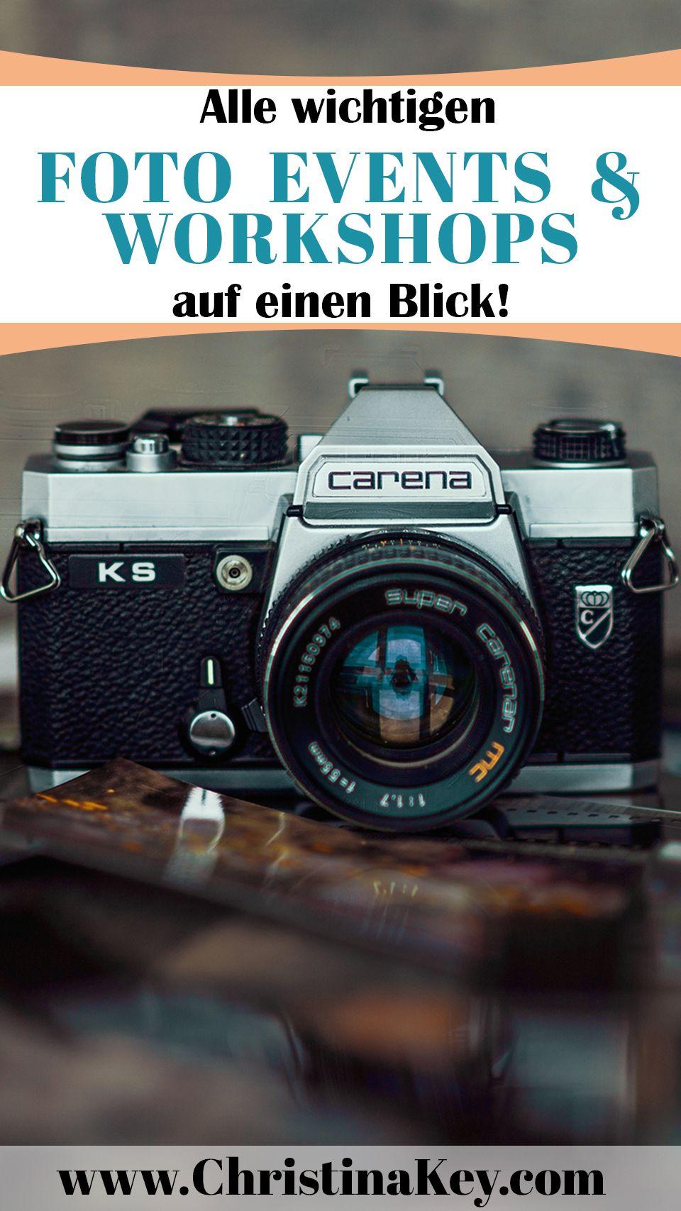 Alle wichtigen Foto Workshops und Foto Events auf einem Blick ...
