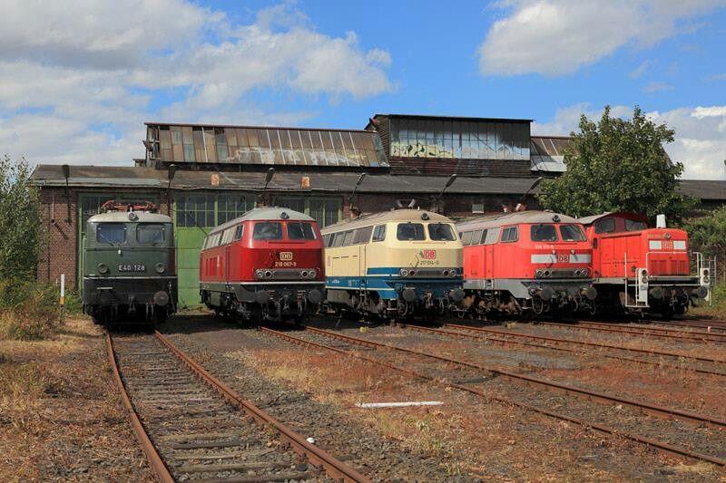DB Museum Koblenz Eisenbahn, Modelleisenbahn, Lokomotive