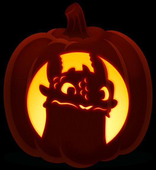 toothless jack o lantern pattern  Toothless in 5 | Cute pumpkin carving, Pumpkin carving ...
