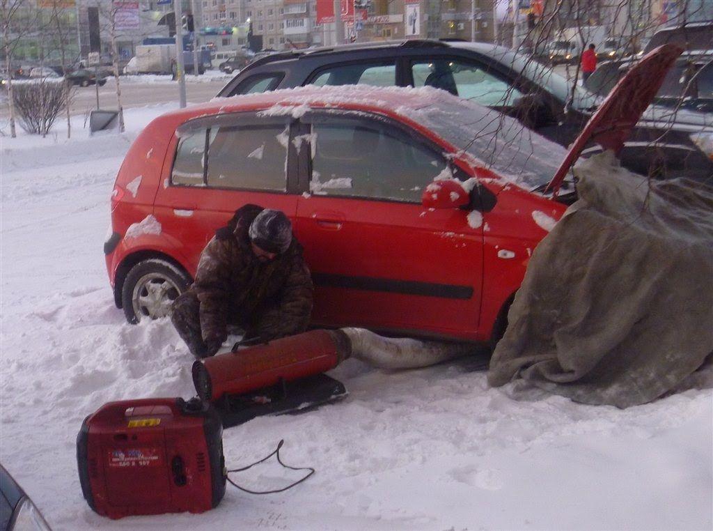 Zapusk Dvigatelya V Moroz V Chem Problema Car Safety Snow Shovel