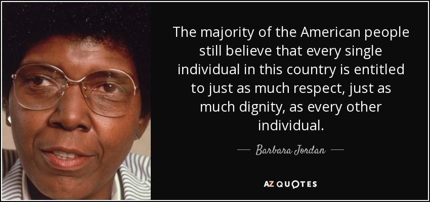 Discover Barbara Jordan Famous And Rare Quotes Share Barbara Jordan Quotations About Immigration Parties And Community Quot T Rare Quote Quotes 25th Quotes